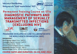Dermatologo Torino Permanent training course on STIs DIAGNOSTIC PATHWAYS AND MANAGEMENT OF SEXUALLY TRANSMITTED INFECTIONS (EXCLUDING HIV)
