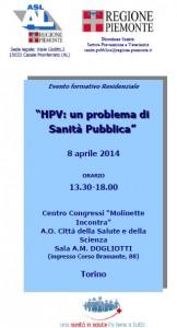 Dermatologo Torino - corso HPV: un problema di Sanità Pubblica